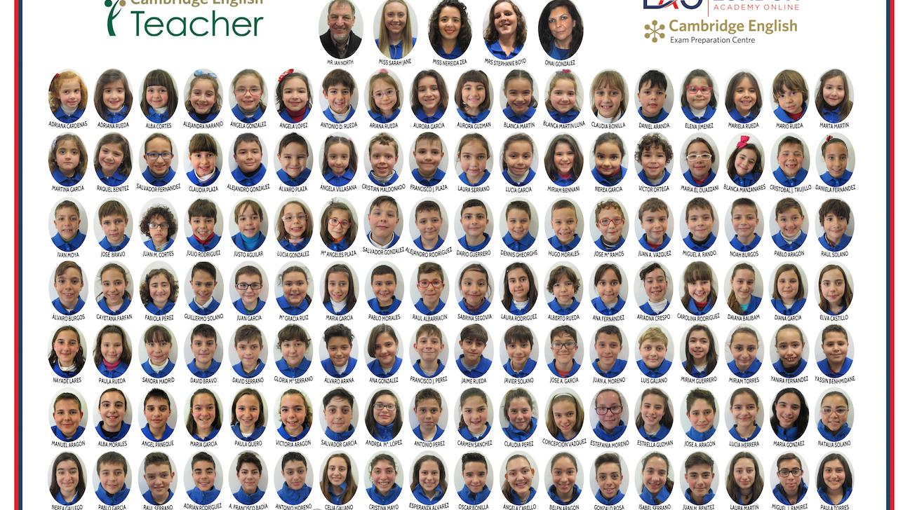 Alumnos Inglés Infantil Alhaurín el Grande 2016