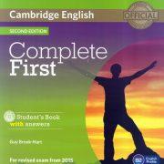 Libro FIRST B2 Complete Inglés Málaga