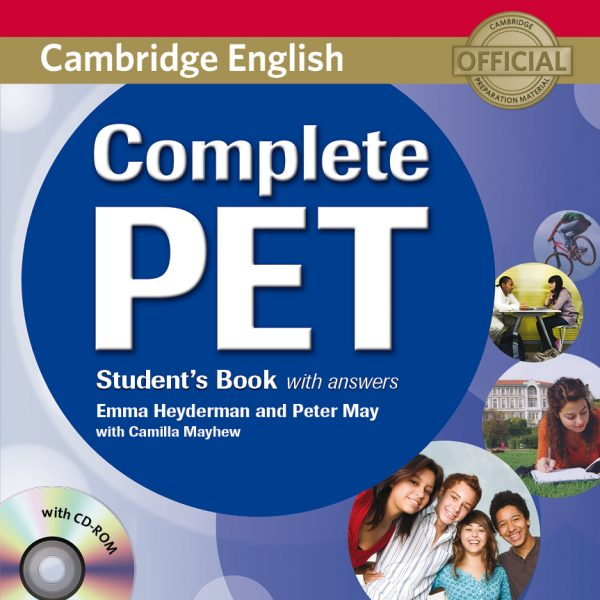 Libro PET B1 Complete Inglés Málaga