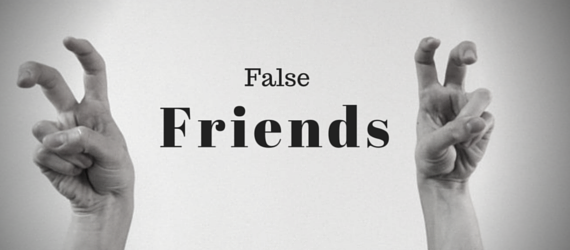 False friends academia de ingles en malaga