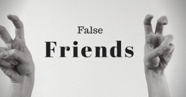 False friends academia de ingles en malaga