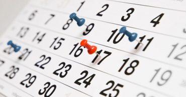 Calendario actividades inglés en Málaga